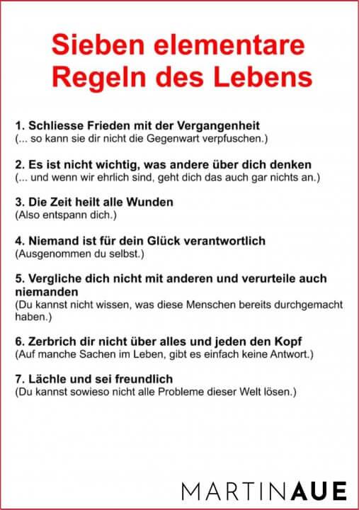 Sieben-Regeln
